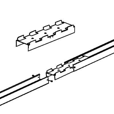 Skarvstycke (Inklusive fästskruvar)