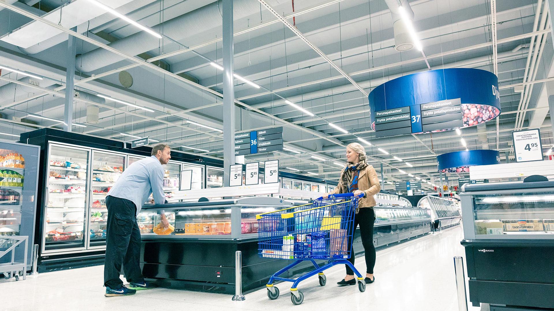 Smart butiksbelysning ökar försäljning och medför besparingar
