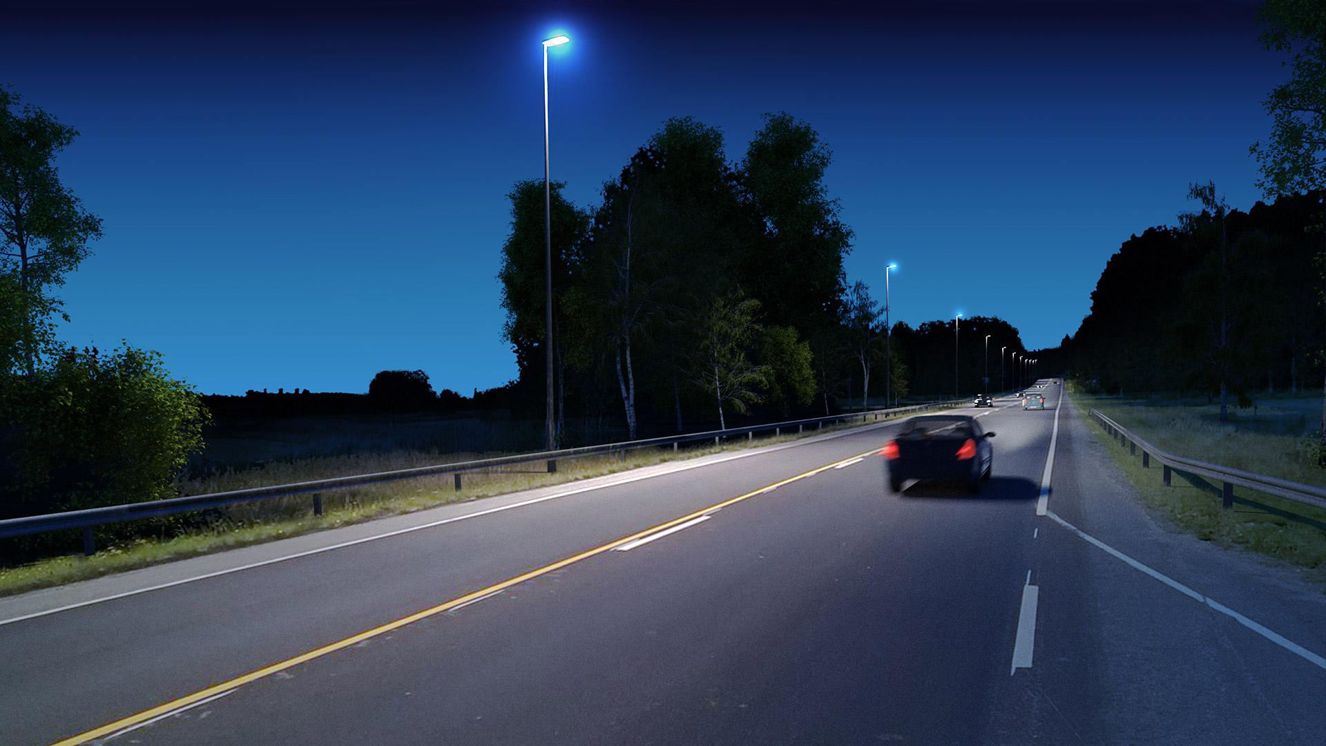 Vega L: Lösningen för nordisk gatubelysning