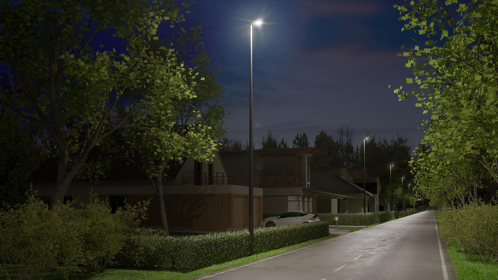Vega S skapar moderna möjligheter för gatu- och områdesbelysning