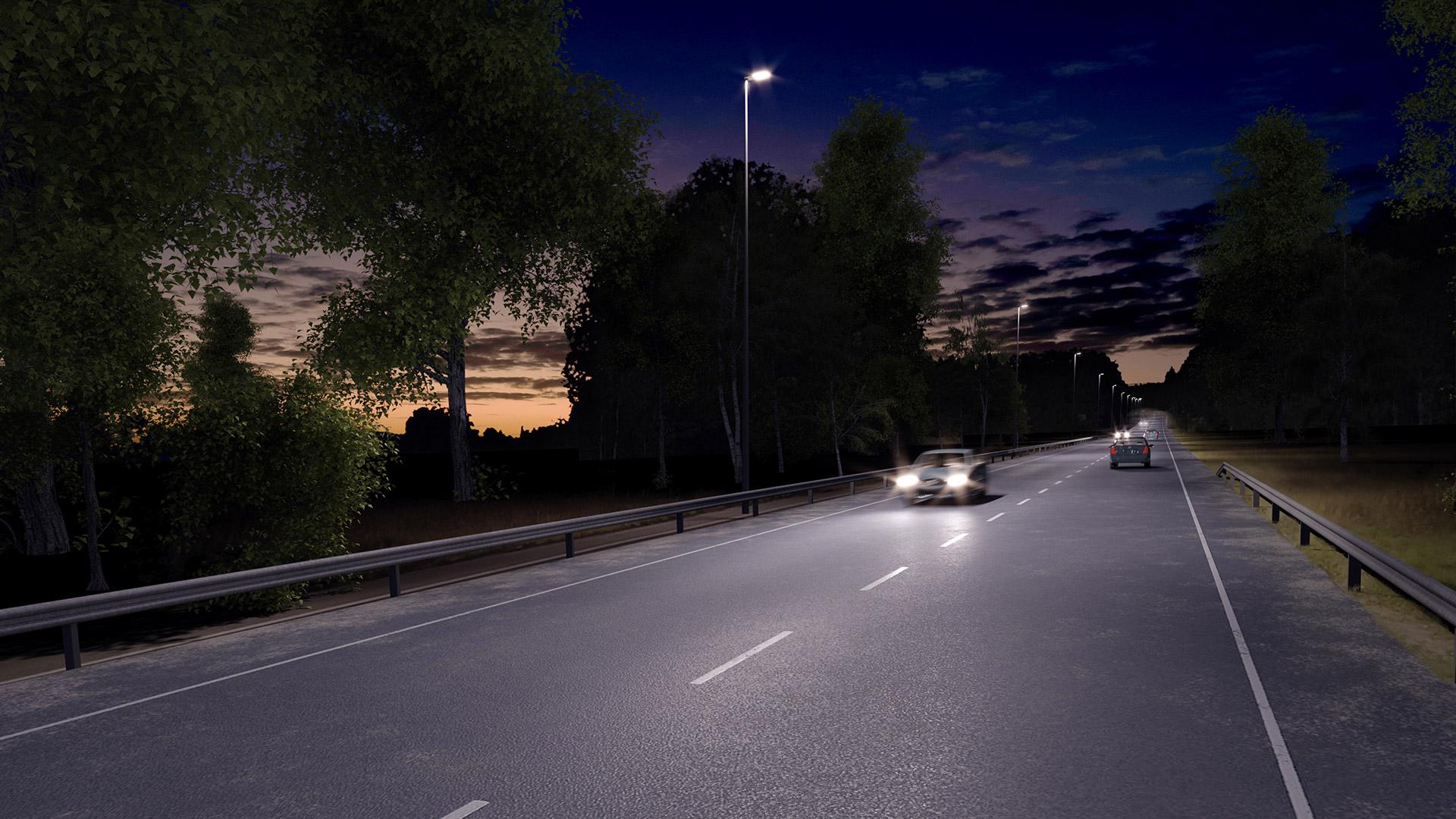 Vega M kompletterar Vega-serien för gatu- och områdesbelysning